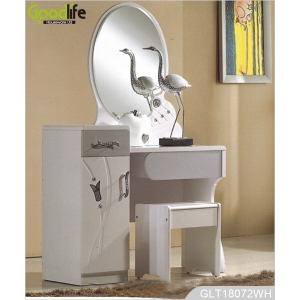New product 2014 MDF furniture wooden dressing table mirror price