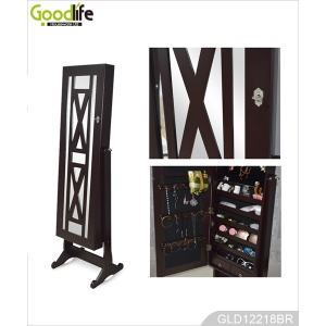miroirs armoire de bijoux debout new vie du produit. Black Bedroom Furniture Sets. Home Design Ideas
