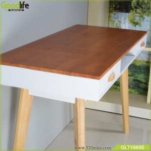 OEM/ODM Finger joint solid wood computer desk ,study table wholesale factory in China