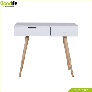 Professional made fashion and luxury makeup table with mirror GLT18163