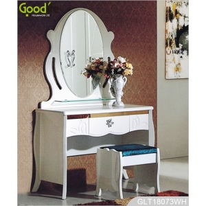 Resource furniture wooden dressing table mirror with storage function GLT18073