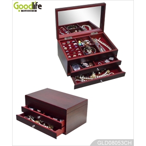 Royal sex furniture jewelry set box model with mirror