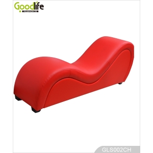 Sex furniture for bedroom PU leather make love sofa chair GLS002