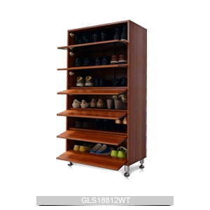 Meuble chaussures en gros 6 couches tag re chaussures for Guarda zapatos en madera
