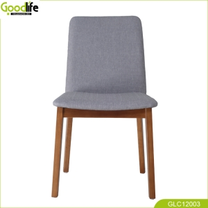 Solid wood chair with comfortable mat GLC12003