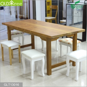 Teak wood big table for hotel and office and villa China supplier