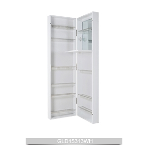 Merveilleux Wall Mounted Or Hanging Over The Door Mirrored Makeup Cabinet For Bedroom  Bathroom And Living Room