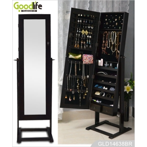 Wooden jewelry armoire cabinet for modern bedroom design from Goodlife