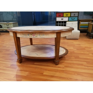 Wooden round table for dining room and restaurant China supplier