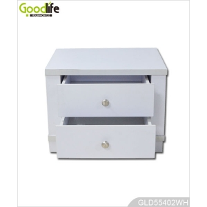 Wooden storage cabinet with one drawer for bedroom side table GLD55402