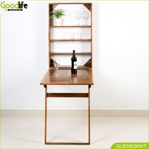 solid wood wall mounted table GLB09036