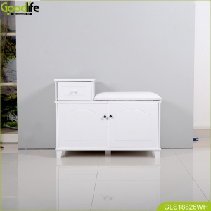 wholesale mirror shoe cabinet stool cabinet made in China