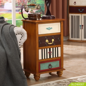 wooden chest storage cabinet to decorate for your home GLD90007