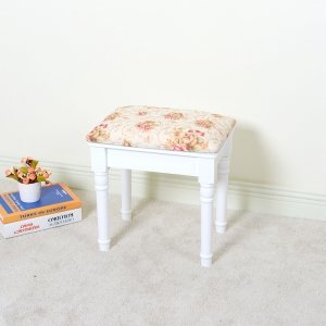 China Dressing room Simple design Vanity Stool factory