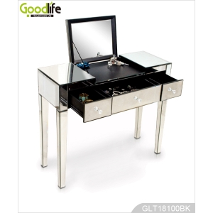 China Dressing table and mirror low price America style mirror table factory