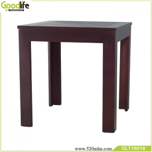 Fabbrica della Cina Factory direct sales Mahogany solid wood  table waterproof modern design for living room GLT18018A