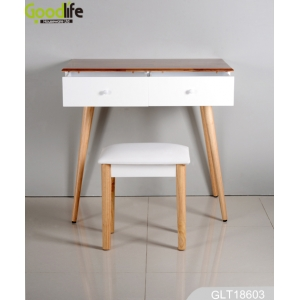 China Floor dressing table + stool  GLT18603 factory