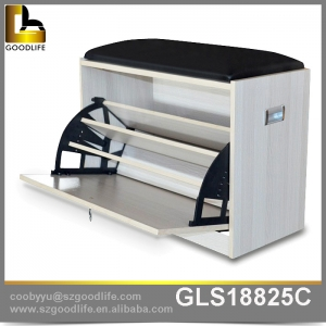 China Furniture living room cheap shoe rack factory