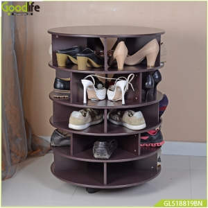 China Factory directly sell wooden rotating organizer for book and other accessories GLS18819 factory