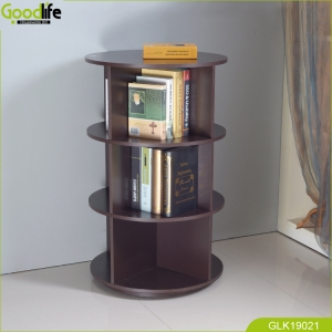 China Rotation rack save space for storage book stationery convenience from GoodLife. fábrica
