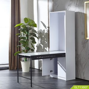 China new design folding table and storage cabinet two in one  fábrica