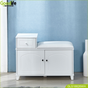 China Goodlife wholesale mirror shoe cabinet stool cabinet made in China fábrica