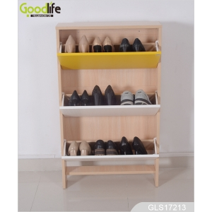 China Ikea shoe cabinet, wooden shoe cabinet  GLS17213 factory