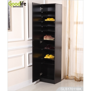 China Large Wooden Storage Cabinet for Shoes Made in China GLS17011A factory