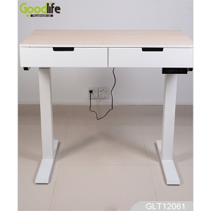 China Living room office counter table design,electric height adjustable desk IWS12061 factory