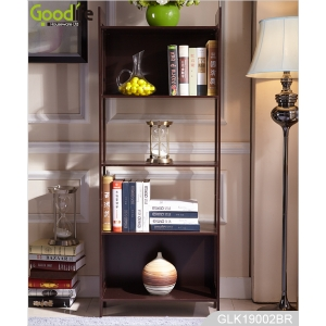 Кита Wood bookcase home bookshelf for office home furniture  4-Tier ladder shelf  bookcase storage display завод