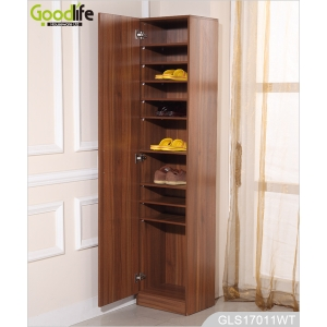 Wall mounted Wooden Mirrored Fold Out Ironing Board cabinet GLI08135