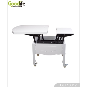 China Multi-functional wooden dining table,white GLT13012 factory
