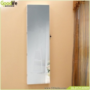 China No frame full length mirror jewelry storage cabinet GLD12140 factory