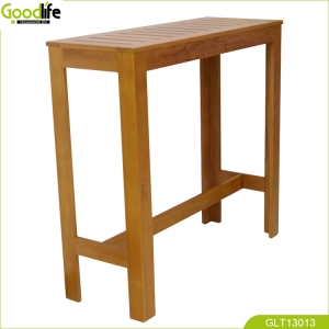 China Solid Mohagany wood bar table China supplier fábrica