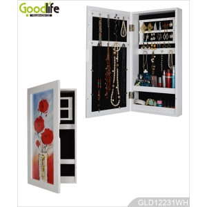 Wall mirror and mirrored furniture Guangdong wall cabinet with paintings