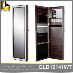 China Wall mounted mirror jewelry and makeup  cabinet  GLD12141 factory