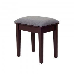 China Wooden Dressing Stool Makeup Chair MDF stand with painting factory