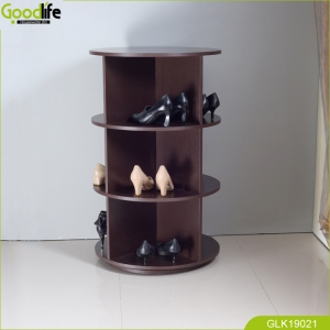 China Wooden ROATION STORAGE SHOE RACK ORGANIZER China Supplier fábrica