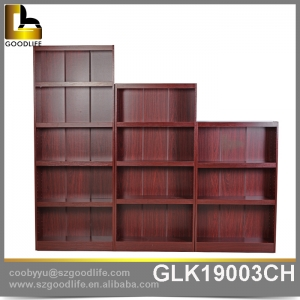 China Wooden bookshelf one set 3 pieces multi function storage shelf saving space factory