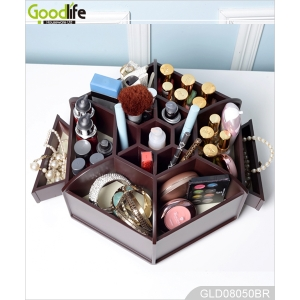 China Wooden makeup box China factory wooden box jewelry for girls factory