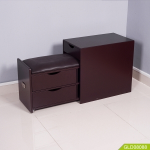 Кита Wooden sofa side cabinet with seat  for space saving and storage завод