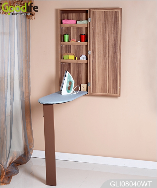 Merveilleux 2015 New Design Wall Mounted Ironing Board Cabinet With Glass Mirror  GLI08040 ...