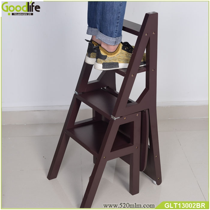 2018 Modern New Design Folding Ladder Chairs Factory