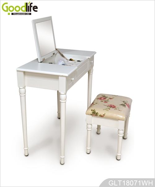 pittura mdf & cn standard di trucco tavolo in legno ue - Mobili Per Trucco