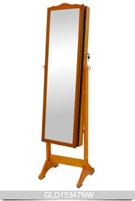 Elegant ... Bestselling Wooden Mirror Jewelry Cabinet For Jewelry Storage And  Dressing GLD15347 ...