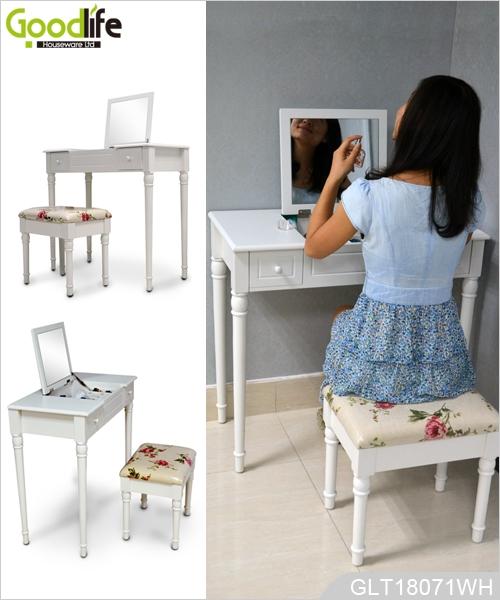 China fabricante de muebles con espejo tocador de madera for Muebles el fabricante