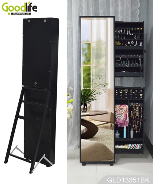 chine armoire bijoux miroir prix bas avec porte lat rale de traction de gros. Black Bedroom Furniture Sets. Home Design Ideas