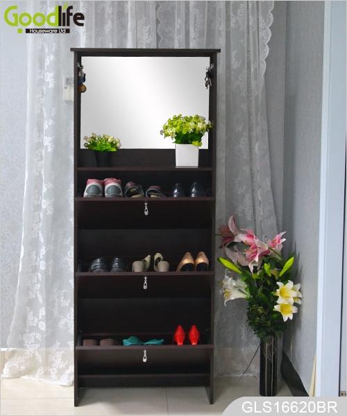 Zapato espejo armario con gancho for Espejos modernos en madera