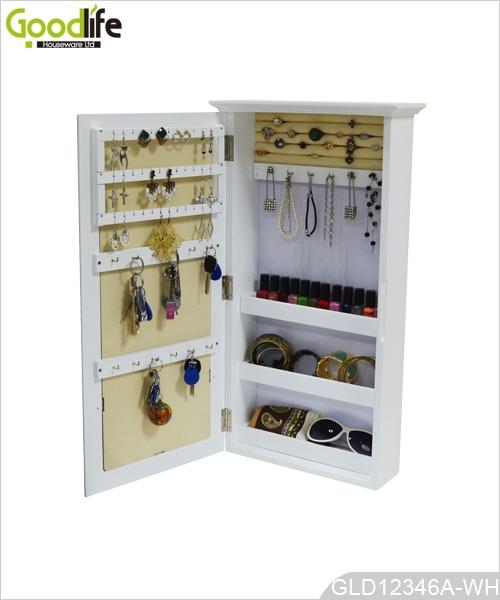 mural armoire cl s et bijoux en bois. Black Bedroom Furniture Sets. Home Design Ideas