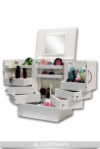 new design wooden makeup box with space saving design wood. Black Bedroom Furniture Sets. Home Design Ideas